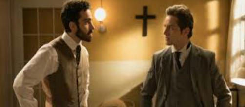Una vita, puntata serale del 14 settembre: Diego vuole pugnalare Samuel