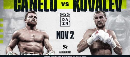 Boxe: ufficiale il supermatch Canelo vs Kovalev il 2 novembre a Las Vegas