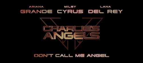 "'Don't Call Me Angel' is the lead single from the soundtrack of the upcoming ""Charlie's Angels"" reboot. (Image Credit: Charlies Angels/Youtube)"