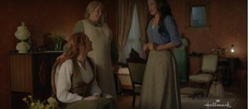 Fans will see the lives of sisters Lillian and Grace unfold in 'When Hope Calls' during special September airings. [Image source:HMN-YouTube]