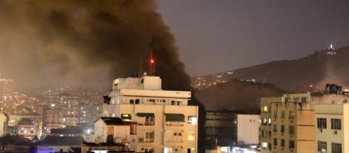 Incêndio no hospital Badim, no Rio de Janeiro, deixa ao menos 11 mortos. (Reprodução)