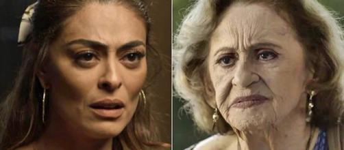 Maria e Matilde podem ter se conhecido no passado. (Reprodução/Rede Globo)