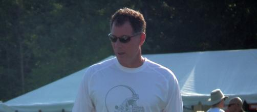 New York Giants head coach Pat Shurmur. [Image credit: Flickr/Erik Drost]