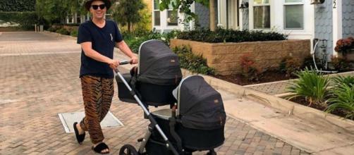 Paulo Gustavo com os filhos gêmeos, Romeu e Gael. (Reprodução/Instagram/@paulogustavo31)