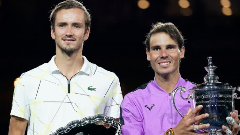US Open: Nadal venció a Medvedev en final épica de 5 sets, para ganar su 19no Grand Slam
