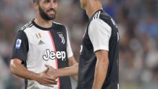 Higuain a Sky Sport: 'Volevo restare alla Juventus'