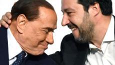 Salvini torna a parlare con Berlusconi: 'Insieme in piazza contro il governo Pd-5Stelle'