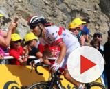Fabio Aru impegnato al Tour de France.