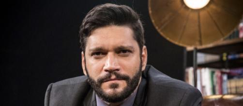 Diogo irá produzir vídeo falso juntamente com Sinistro. (Reprodução/Rede Globo)
