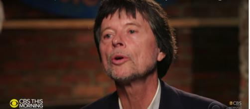 Film documentarian Ken Burns is more than moved in song by his PBS series, 'Country Music.' [Image Source: CTM/YouTube]