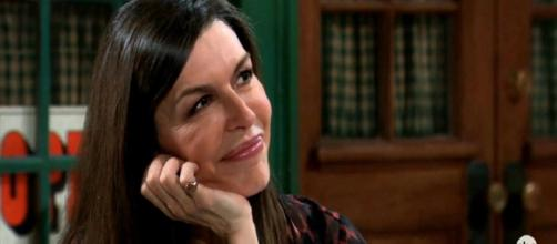 On 'General Hospital,' Anna Devane returns to the soap opera. [Image Source: GH/Twitter]