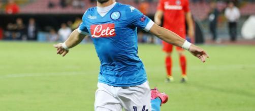 Napoli-Sampdoria, doppietta Mertens