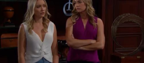 Shauna and Flo cause problems for the Forrester, Spencer's and Logan's.(Image Source:CBS-YouTube.)