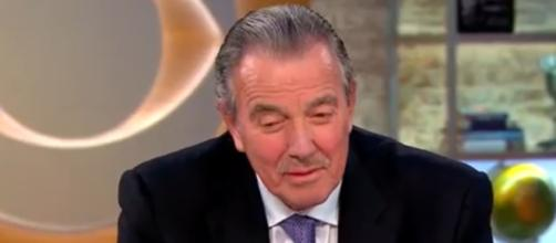 Victor Newman takes his death on Y&R. (Image via CBS/Youtube)