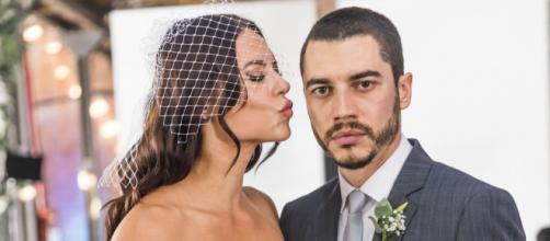 Vivi aceita ser noiva de Camilo. (Reprodução/Rede Globo)