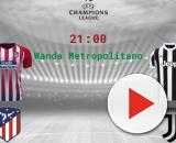 Atletico Madrid-Juventus, Champions League (mercoledì)