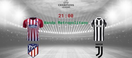 Atletico Madrid-Juventus, Champions League (mercoledì)
