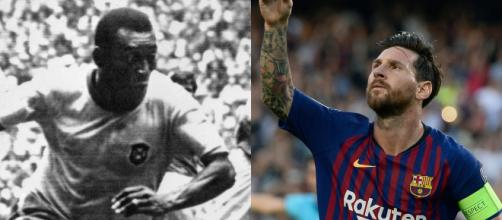 Le grand défi de Messi, dépasser le record de buts de Pelé | Goal.com - goal.com
