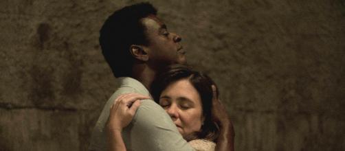 Seu Jorge e Adriana Esteves em cena de 'Marighella', do diretor Wagner Moura. (Arquivo Blasting News)