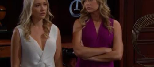 Shauna and Flo cause problems for the Spencer's, Logan's, and Forrester's. [Image Source: CBS/YouTube]