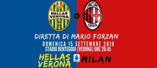 Terza Giornata di Serie A, a Verona l'Hellas ospita il Milan.