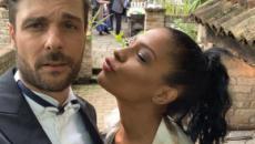Georgette Polizzi e Davide Tresse si sono sposati con rito simbolico