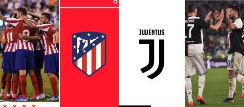 Atletico Madrid-Juventus si gioca mercoledì