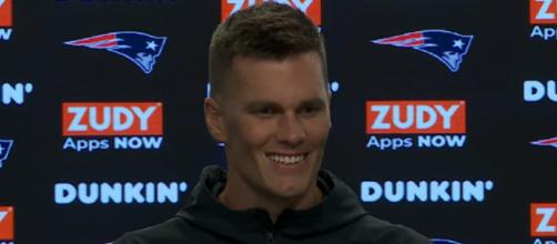 Brady said he's focused on beating the Jets. [Image Source: New England Patriots/YouTube]