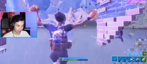 FaZe Kaz just moments from getting that Victory Royale in 'Fortnite.' [Image Source: FaZe Kaz/YouTube]