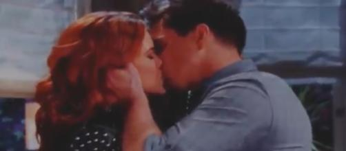 Sally could lose Wyatt to Flo. (Image Source:The Bold and the Beautiful/YouTube)