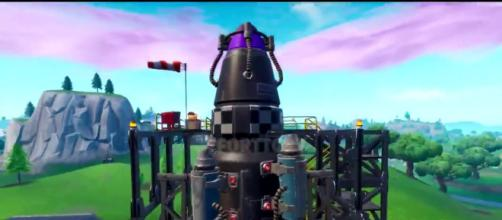 "The Visitor will launch another rocket in ""Fortnite Battle Royale."" (Image Credit: In-game screenshot)"