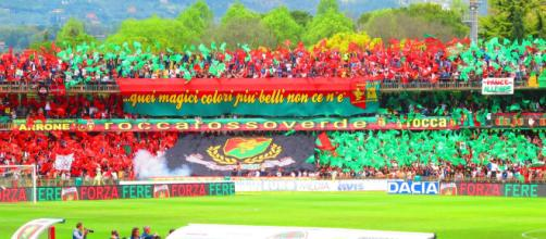 Tifosi della Ternana, ieri erano oltre 12 mila.