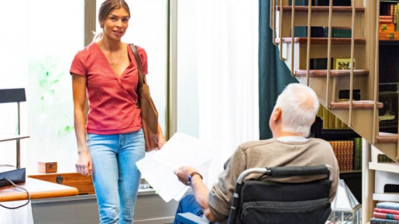 'Bom Sucesso': Paloma conta a Alberto sobre os seus novos planos