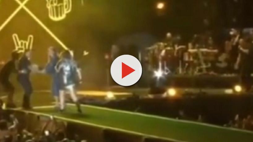 Ivete Sangalo sobe no palco de Marília Mendonça, é confundida e perseguida por seguranças