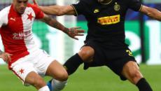 Champions League, Inter-Slavia Praga 1-1: Barella salva i nerazzurri in pieno recupero