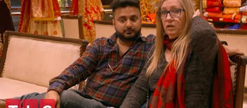 90 Day Fiancé: The Other Way's Jenny Calls Sumit (credit tlc youtube channel)