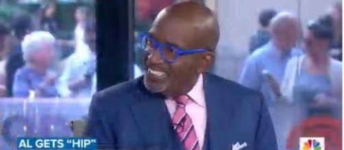 Al Roker forecasts a speedy return to 'Today' after hip surgery, with popcorn to-go. [Image source: TODAY/YouTube]