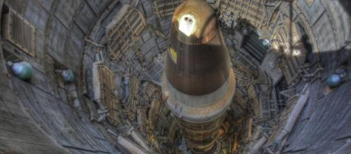 An ICBM in underground complex Image Credit: Steve Jurvetson/Flickr Creative Commons