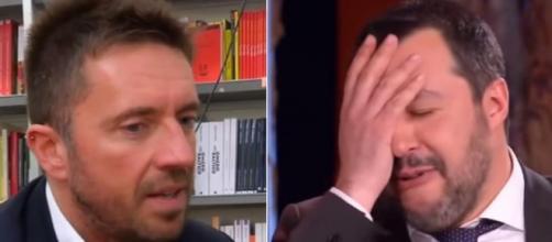 Andrea Scanzi scatenato contro Matteo Salvini