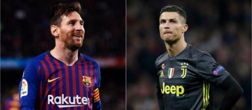 Cristiano Ronaldo et Lionel Messi dominent le football mondial