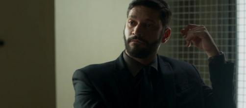 Diogo assassina rival e pode se dar mal. (Reprodução/TV Globo)