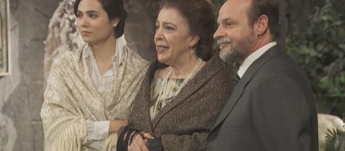 Il Segreto spoiler: Mauricio avverte Francisca che il paese scomparirà