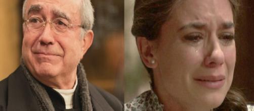Il Segreto trame al 28 settembre: Don Anselmo parte, Elsa derubata dal Fernandez