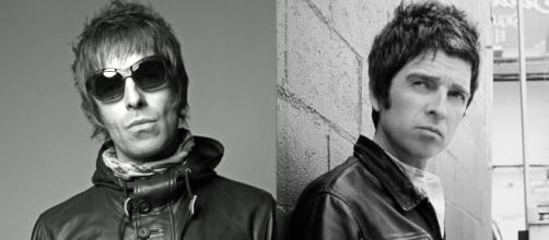 Liam Gallagher e il fratello Noel