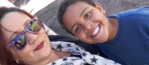 Mãe de Matheus Gabriel revelou que o filho teria medo do pai. (Reprodução/Facebook/@erikapatricia.kuasne)