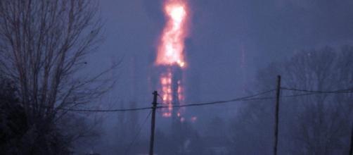 Pavia, esplosione alla raffineria Eni di Sannazzaro de' Burgondi: nessun ferito