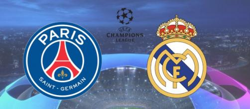 PSG x Real Madrid com transmissão ao vivo na Internet. (Arquivo Blasting News)