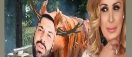Temptation Island Vip, Tina Cipollari contro Er Faina
