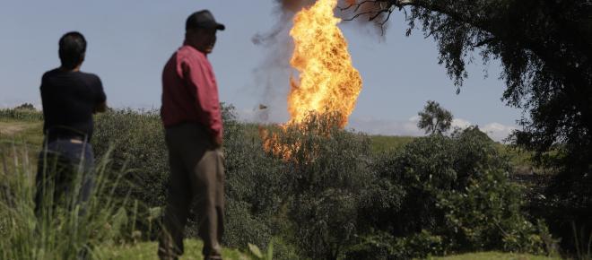 Fuga de gas en ducto de Pemex dejó seis heridos en Puebla