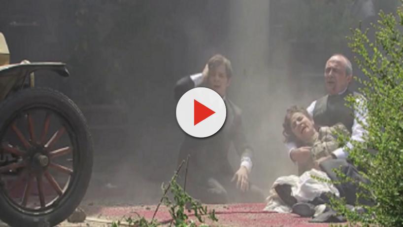Una Vita, spoiler al 28 settembre: la galleria di Samuel Alday distrutta da un attentato